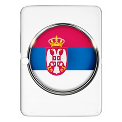 Serbia Flag Icon Europe National Samsung Galaxy Tab 3 (10 1 ) P5200 Hardshell Case
