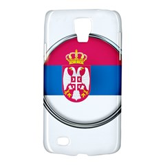 Serbia Flag Icon Europe National Galaxy S4 Active by Nexatart