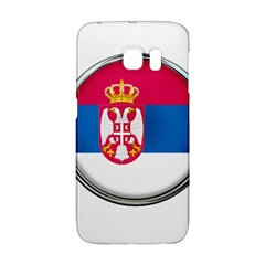 Serbia Flag Icon Europe National Galaxy S6 Edge