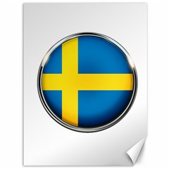 Sweden Flag Country Countries Canvas 36  X 48   by Nexatart