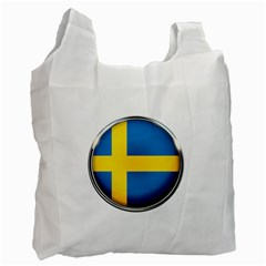 Sweden Flag Country Countries Recycle Bag (two Side)  by Nexatart