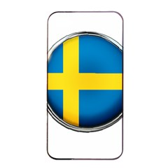 Sweden Flag Country Countries Apple Iphone 4/4s Seamless Case (black) by Nexatart