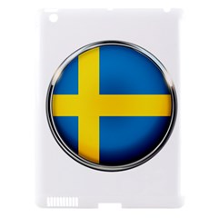 Sweden Flag Country Countries Apple Ipad 3/4 Hardshell Case (compatible With Smart Cover)