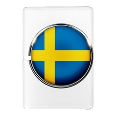 Sweden Flag Country Countries Samsung Galaxy Tab Pro 10 1 Hardshell Case by Nexatart