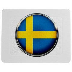 Sweden Flag Country Countries Jigsaw Puzzle Photo Stand (rectangular)