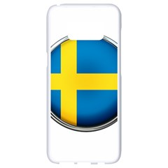 Sweden Flag Country Countries Samsung Galaxy S8 White Seamless Case
