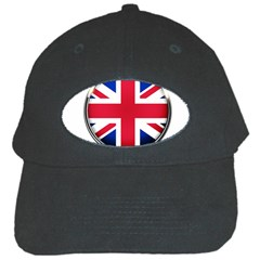 United Kingdom Country Nation Flag Black Cap by Nexatart