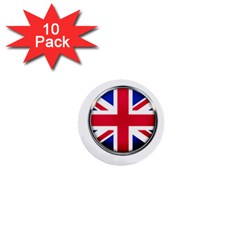 United Kingdom Country Nation Flag 1  Mini Buttons (10 Pack)  by Nexatart