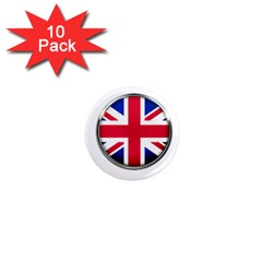 United Kingdom Country Nation Flag 1  Mini Magnet (10 Pack)  by Nexatart