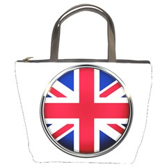 United Kingdom Country Nation Flag Bucket Bags by Nexatart