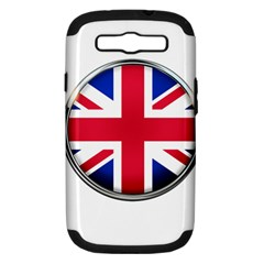 United Kingdom Country Nation Flag Samsung Galaxy S Iii Hardshell Case (pc+silicone)