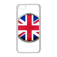 United Kingdom Country Nation Flag Apple Iphone 5c Seamless Case (white)