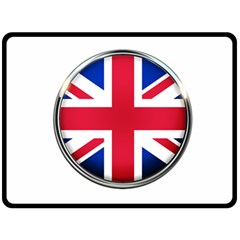 United Kingdom Country Nation Flag Double Sided Fleece Blanket (large)