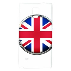 United Kingdom Country Nation Flag Galaxy Note 4 Back Case by Nexatart