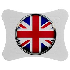 United Kingdom Country Nation Flag Jigsaw Puzzle Photo Stand (bow) by Nexatart