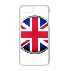 United Kingdom Country Nation Flag Apple Iphone 7 Plus Seamless Case (white)