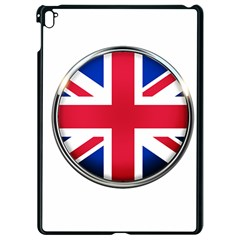 United Kingdom Country Nation Flag Apple Ipad Pro 9 7   Black Seamless Case