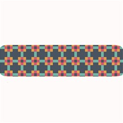 Squares Geometric Abstract Background Large Bar Mats