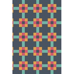 Squares Geometric Abstract Background 5 5  X 8 5  Notebooks by Nexatart
