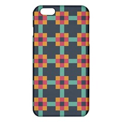 Squares Geometric Abstract Background Iphone 6 Plus/6s Plus Tpu Case by Nexatart