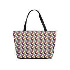 Background Abstract Geometric Shoulder Handbags