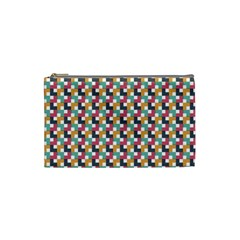 Background Abstract Geometric Cosmetic Bag (small)