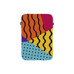 Background Abstract Memphis Apple Ipad Mini Protective Soft Cases