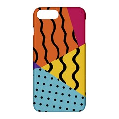 Background Abstract Memphis Apple Iphone 7 Plus Hardshell Case