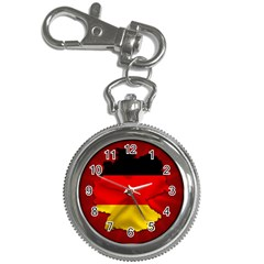 Germany Map Flag Country Red Flag Key Chain Watches