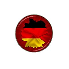 Germany Map Flag Country Red Flag Hat Clip Ball Marker