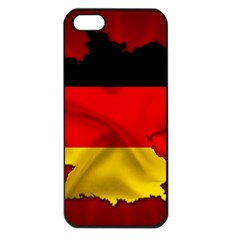 Germany Map Flag Country Red Flag Apple Iphone 5 Seamless Case (black) by Nexatart