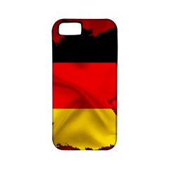 Germany Map Flag Country Red Flag Apple Iphone 5 Classic Hardshell Case (pc+silicone) by Nexatart