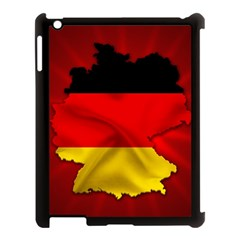 Germany Map Flag Country Red Flag Apple Ipad 3/4 Case (black)