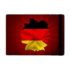 Germany Map Flag Country Red Flag Ipad Mini 2 Flip Cases