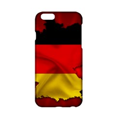 Germany Map Flag Country Red Flag Apple Iphone 6/6s Hardshell Case by Nexatart