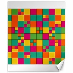 Squares Abstract Background Abstract Canvas 11  X 14