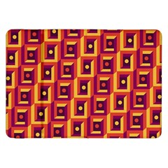 3 D Squares Abstract Background Samsung Galaxy Tab 8 9  P7300 Flip Case by Nexatart