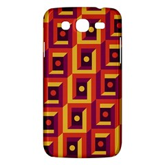 3 D Squares Abstract Background Samsung Galaxy Mega 5 8 I9152 Hardshell Case