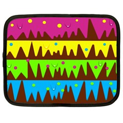 Illustration Abstract Graphic Netbook Case (xl)