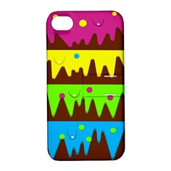 Illustration Abstract Graphic Apple Iphone 4/4s Hardshell Case With Stand