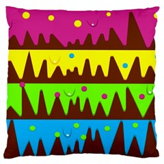 Illustration Abstract Graphic Standard Flano Cushion Case (two Sides)