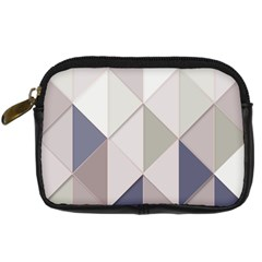 Background Geometric Triangle Digital Camera Cases by Nexatart