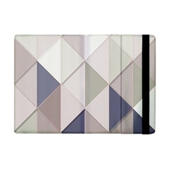 Background Geometric Triangle Apple Ipad Mini Flip Case by Nexatart