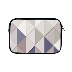 Background Geometric Triangle Apple Ipad Mini Zipper Cases by Nexatart