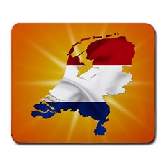 Holland Country Nation Netherlands Flag Large Mousepads by Nexatart