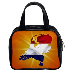 Holland Country Nation Netherlands Flag Classic Handbags (2 Sides)