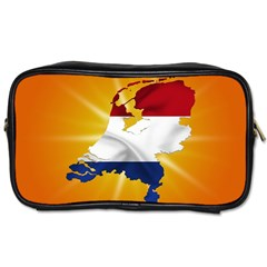 Holland Country Nation Netherlands Flag Toiletries Bags