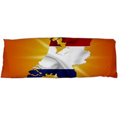 Holland Country Nation Netherlands Flag Body Pillow Case Dakimakura (two Sides) by Nexatart