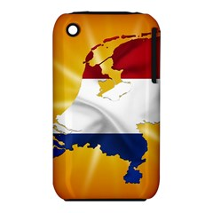 Holland Country Nation Netherlands Flag Iphone 3s/3gs