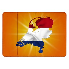 Holland Country Nation Netherlands Flag Samsung Galaxy Tab 8 9  P7300 Flip Case by Nexatart
